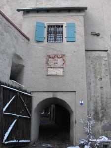 FALKENSTEIN -l'ingresso al castello