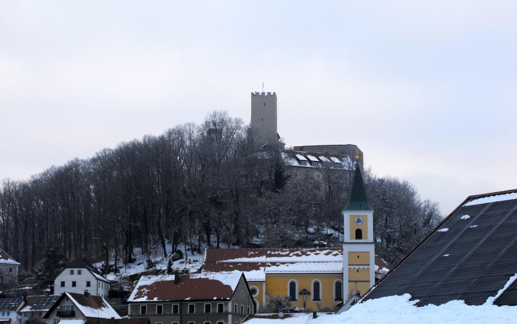 FALKENSTEIN - veduta del castello2